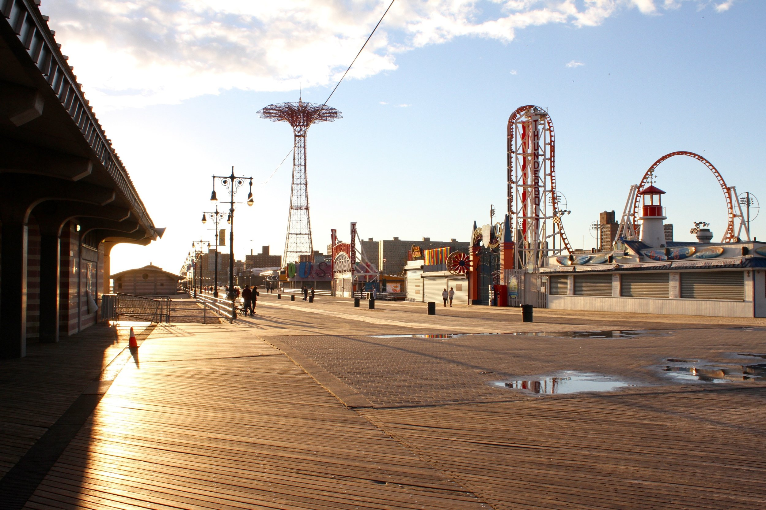 The Boardwalk - Coney Island