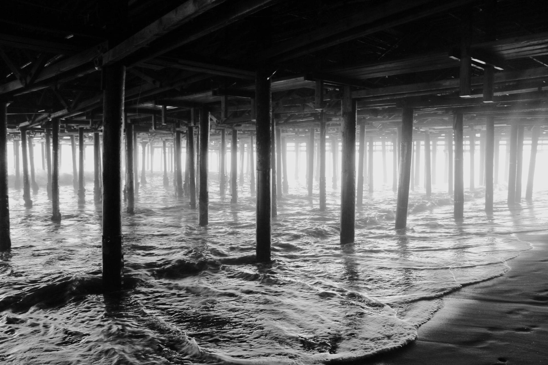 Darker - Santa Monica Pier