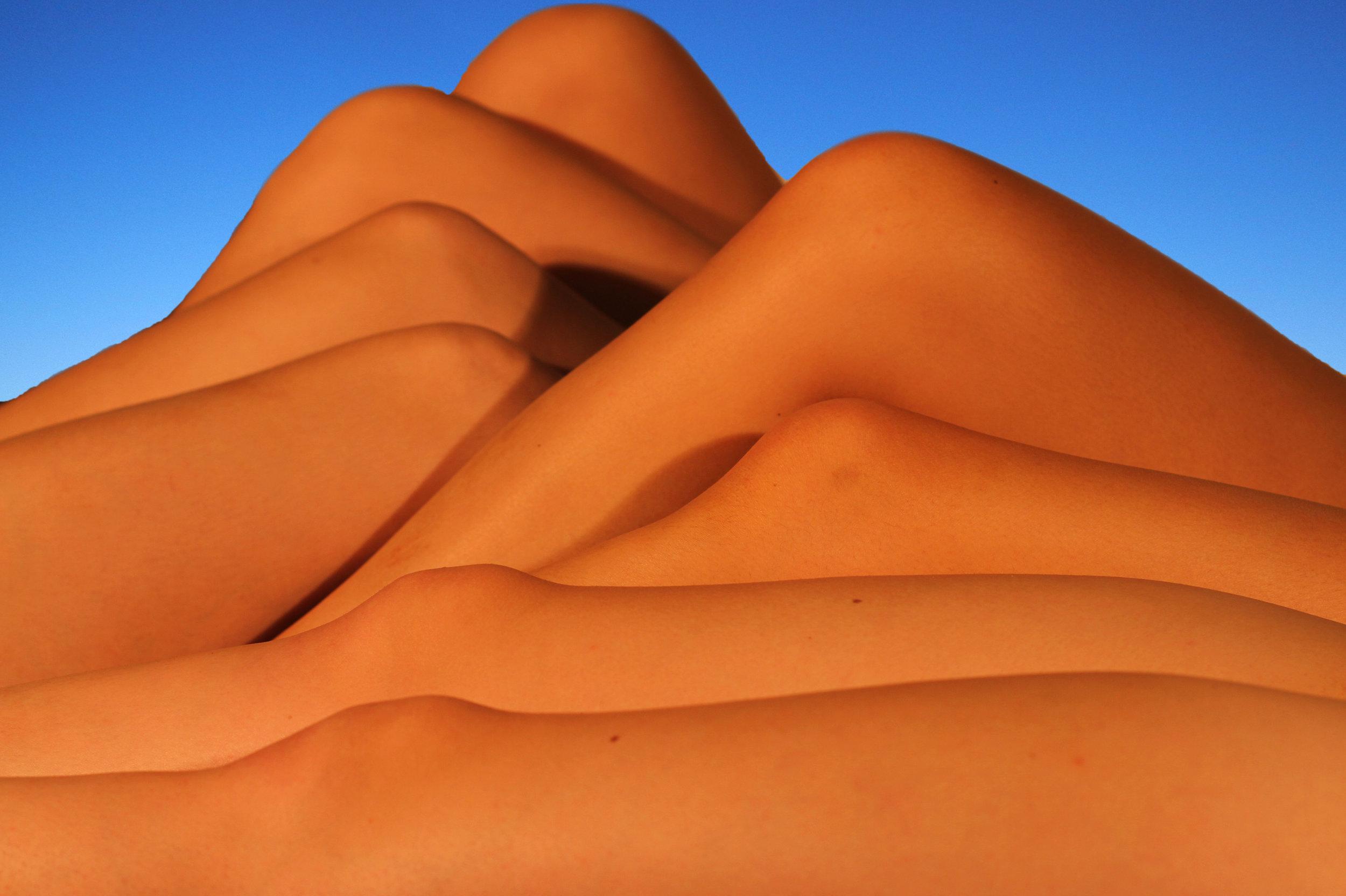 Human Sand Dunes
