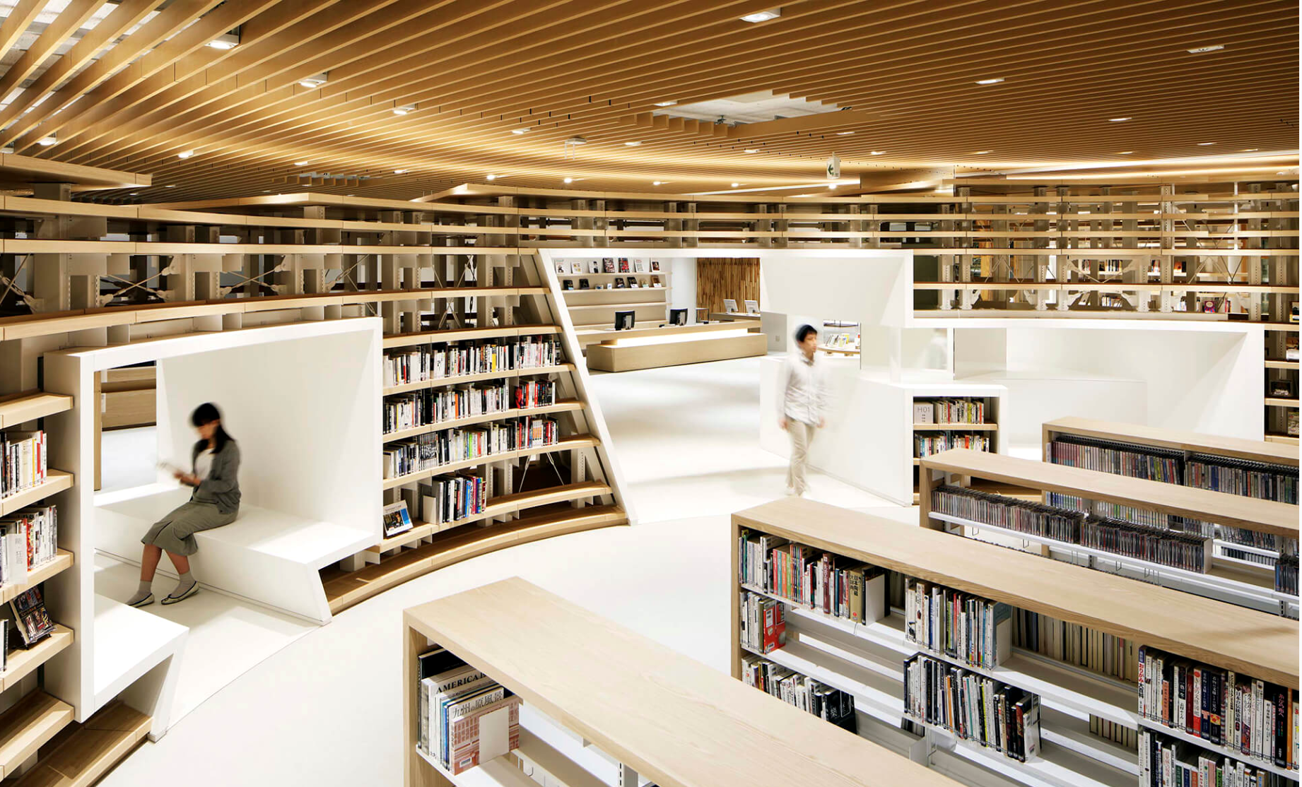nine beautiful libraries in asia - Take a look at some of the most breathtakingly beautiful libraries found in Japan, Taiwan, Singapore, and China.