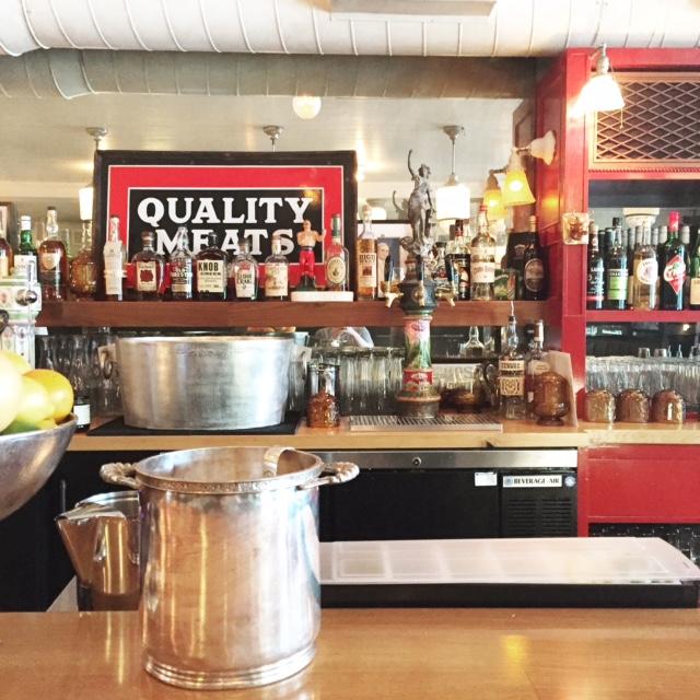 Little Jack's Tavern Charleston, SC - Hotel silver service pieces, barware, wall decor