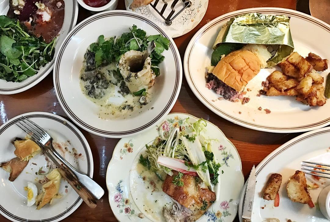 McCrady's   Charleston, SC - Vintage china, hotel silver, antique marrow scoops, toast racks, etc.