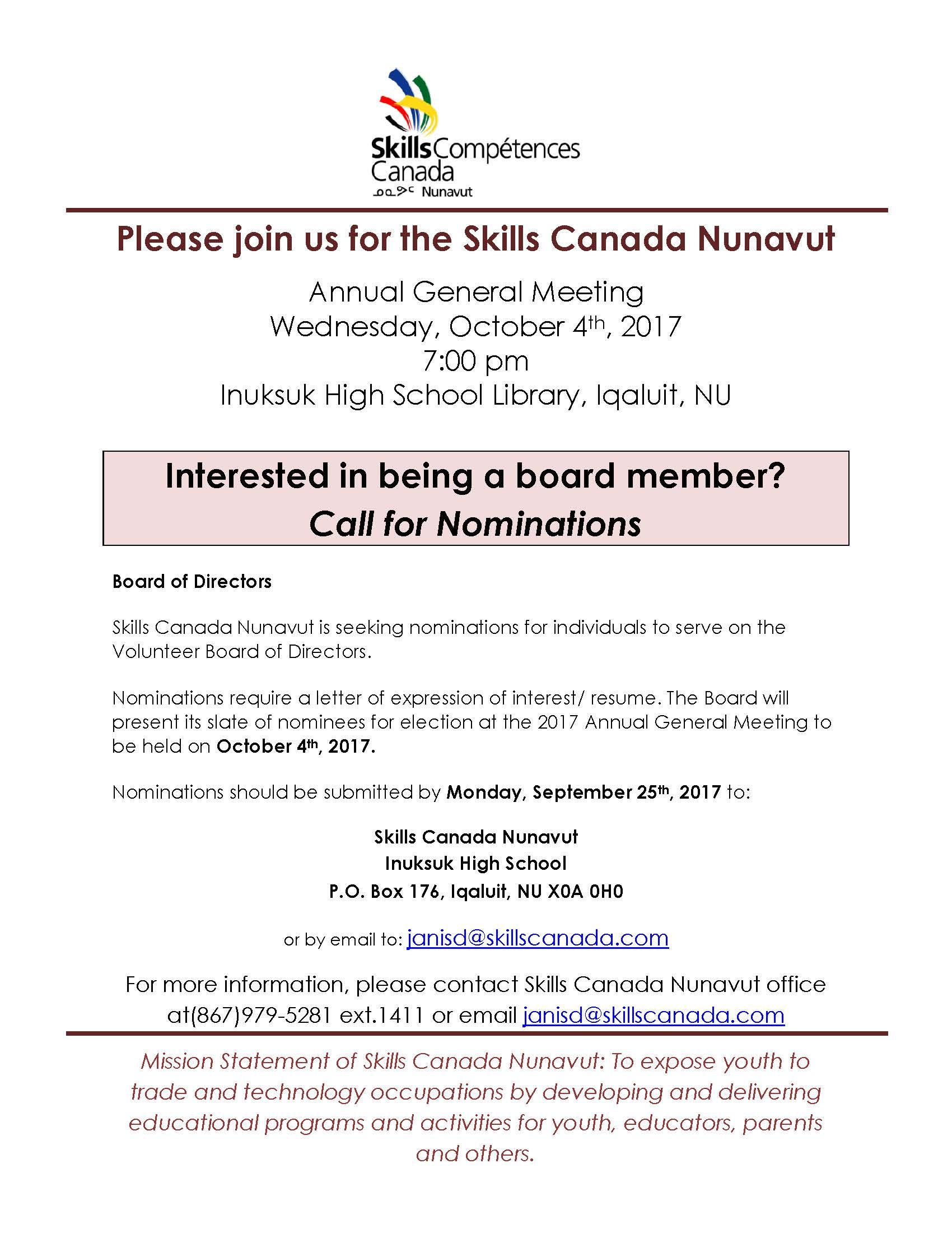 Skills Canada Nunavut AGM poster.jpg