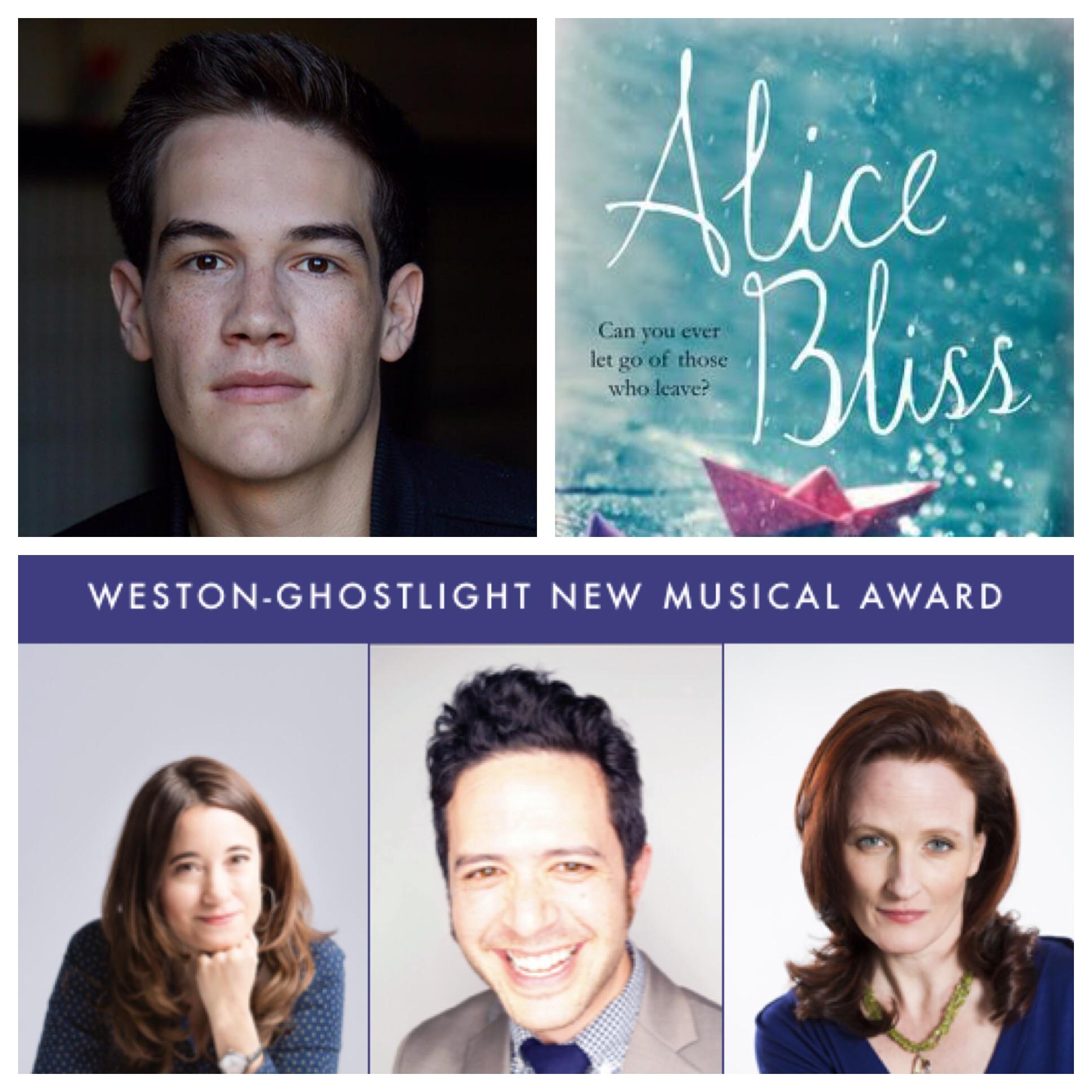 ALICE BLISs - Spring 2019 - Trevor will be playing 'Henry' in the Weston-Ghostlight New Musical Award winning musical, Alice Bliss.For more info on the project: https://www.broadwayworld.com/vermont/article/Weston-Playhouse-Announces-Cast-For-ALICE-BLISS-20190301