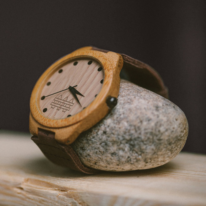 $100.00 - NO WAVE - WOODEN WATCH I'D LIKE TO WATCH THIS