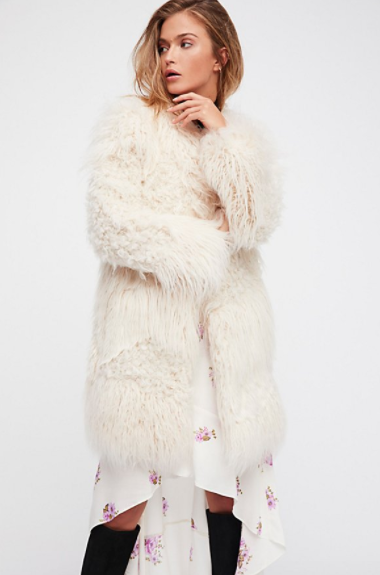 Lamy Faux Fur Coat $598
