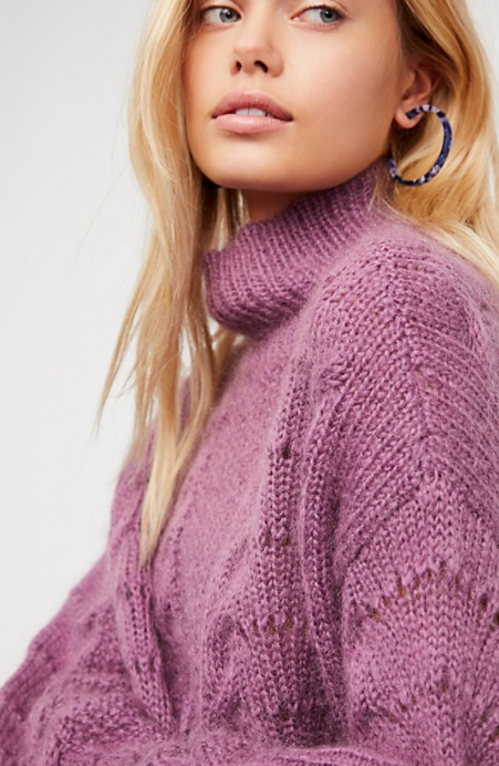 Free People Pointelle Pullover $168