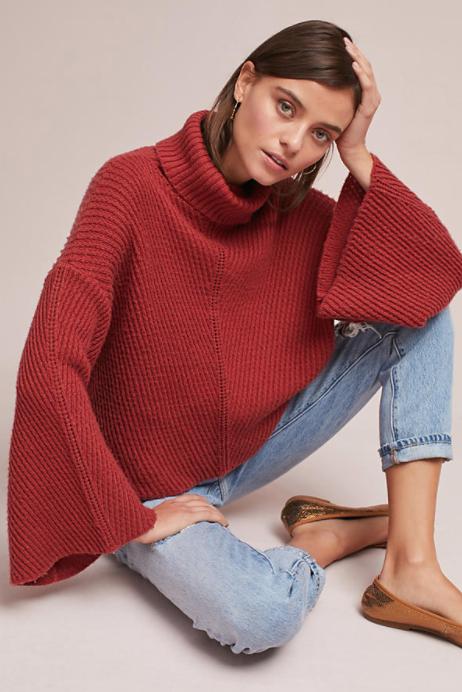 Camilla Turtleneck Sweater $118