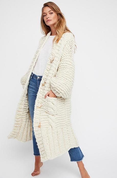 Rockstar Sweater Coat $2,750