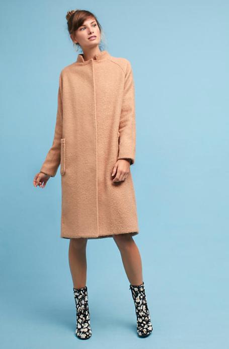 Rachel Dolman Boucle Coat $198