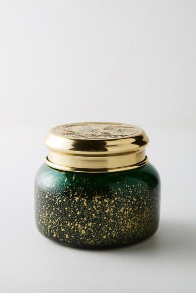 Capri Blue Irridescent Jar Candle $30