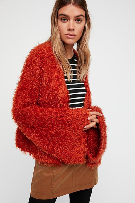 Free People Wild Cat Cardi $148