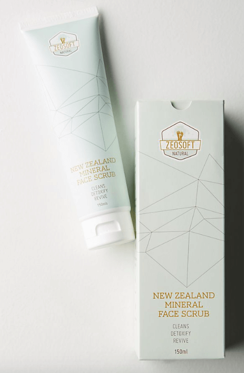Zeosoft New Zealand Face Scrub $23