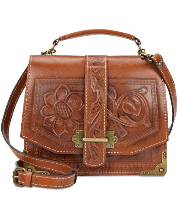 Patricia Nash Stella Flap Small Shoulder Bag $249