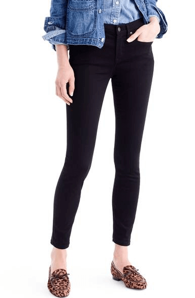 J. Crew Toothpick Jeans $110