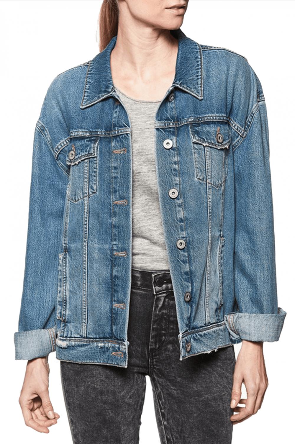 A Denim Jacket -