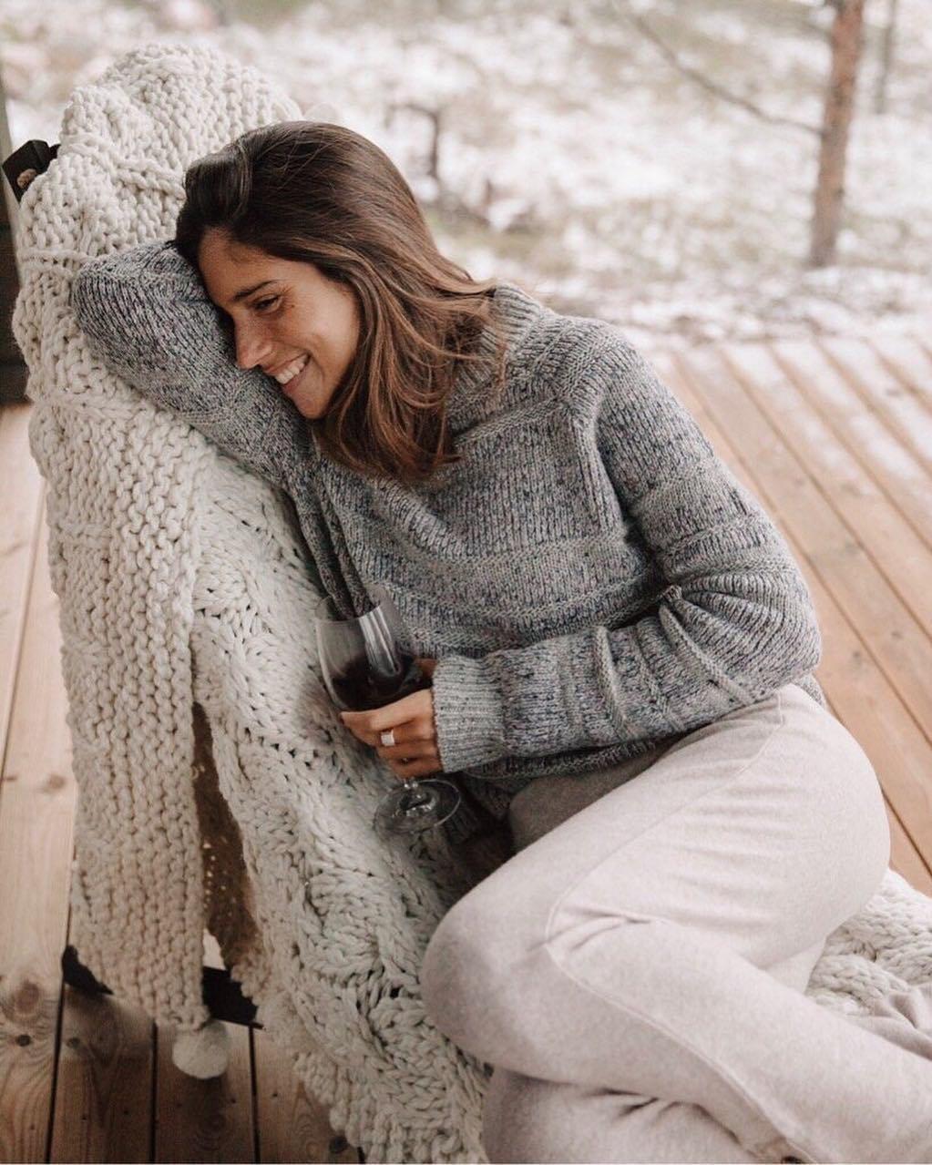 A Classic, Grey Sweater -