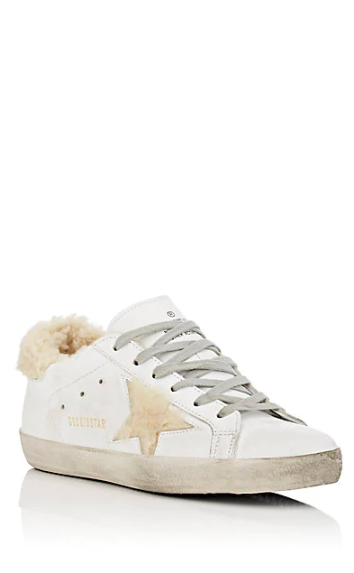 Shearling Golden Goose Sneakers -