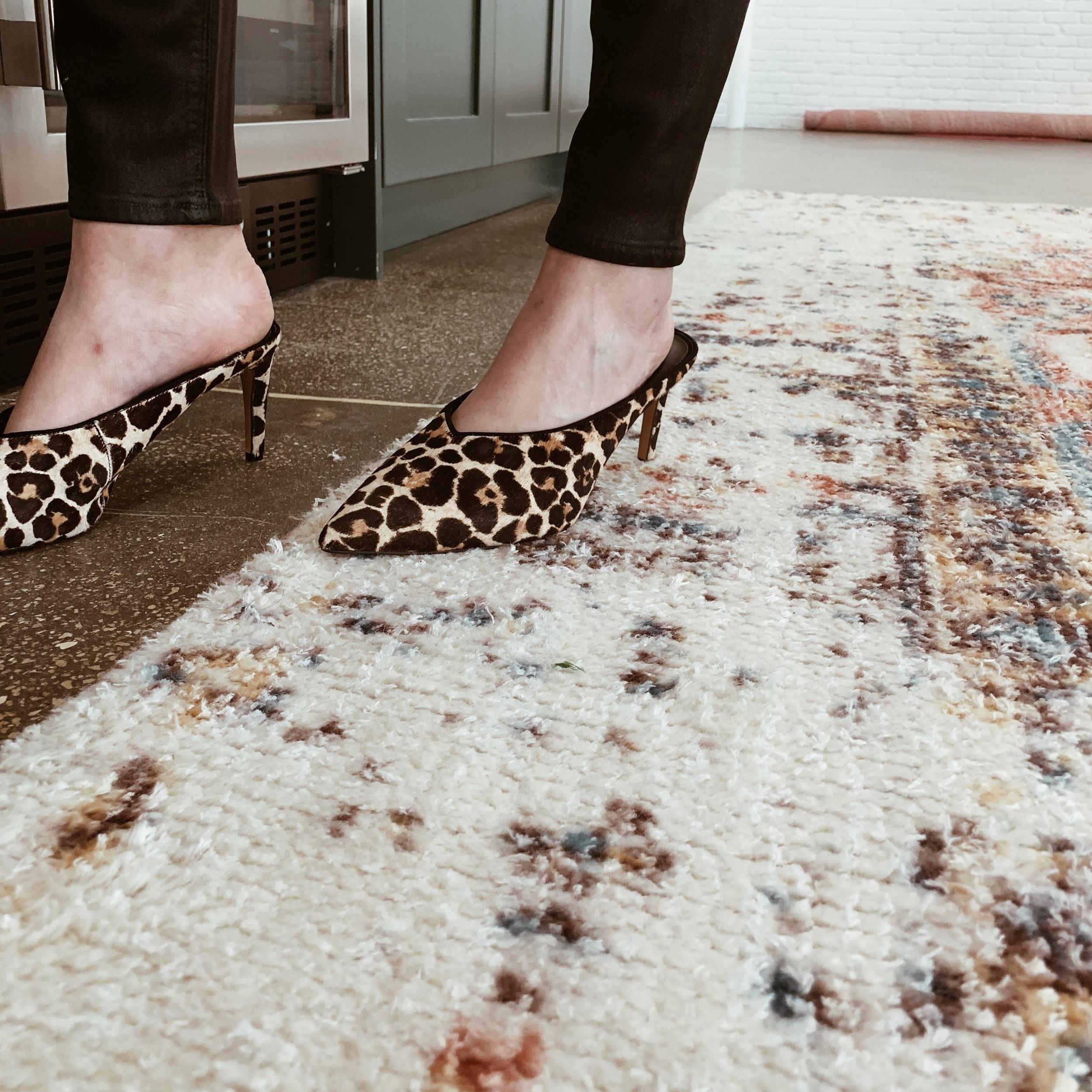 Rebecca Minkoff Leopard Print Mule $178