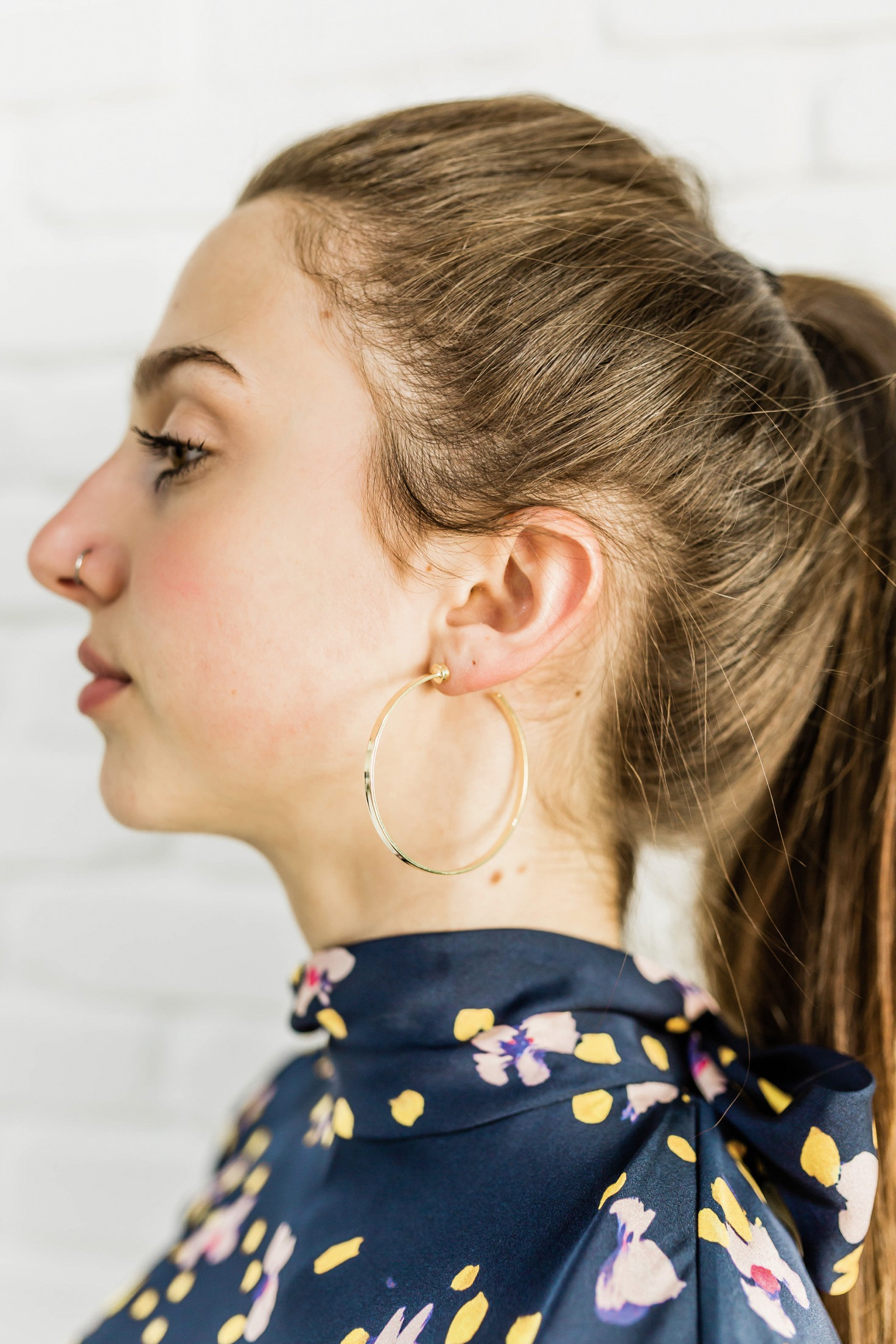 Gold Hoops -