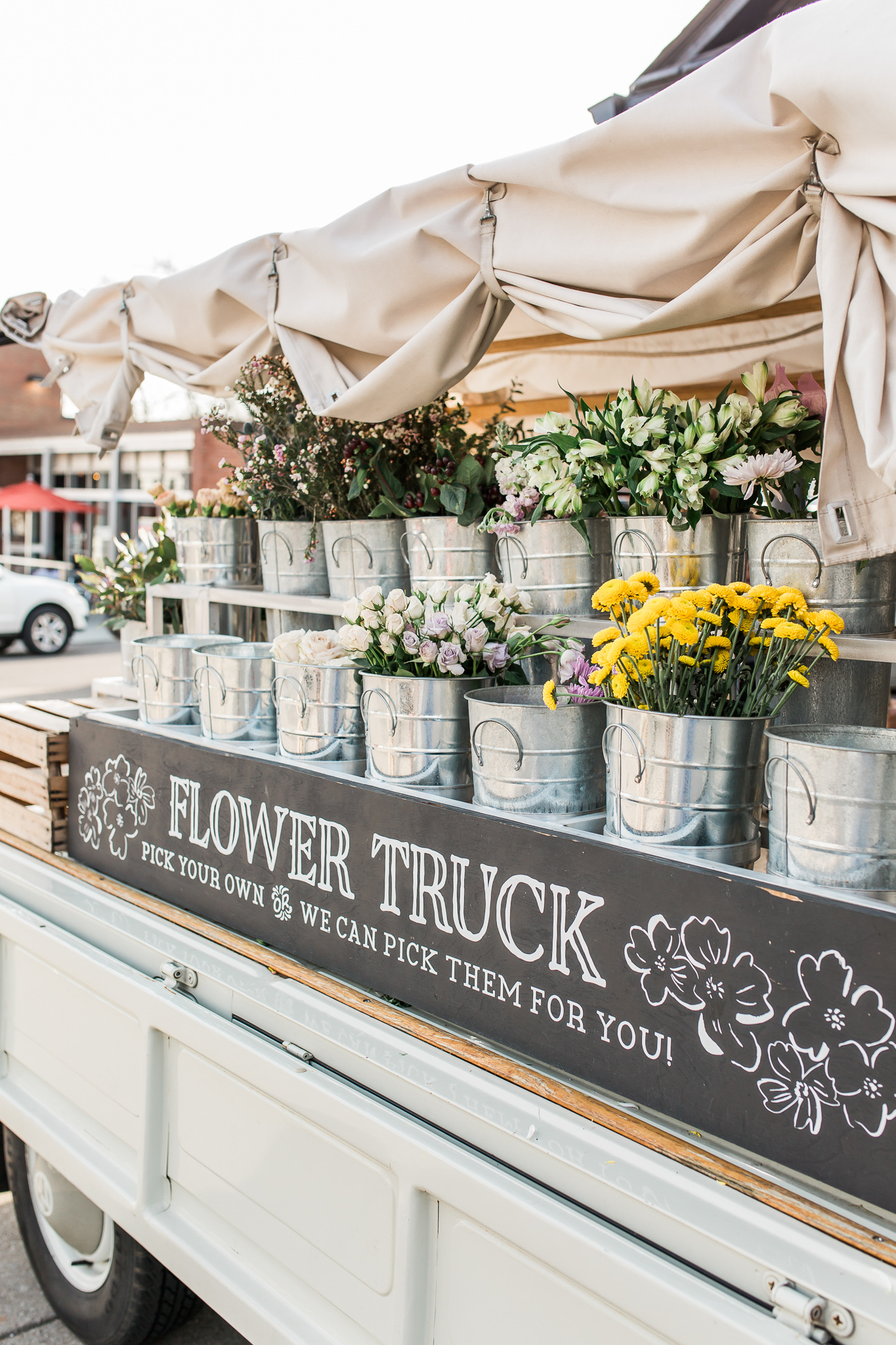 Amelia's Flower Truck - Constantly Changing Location