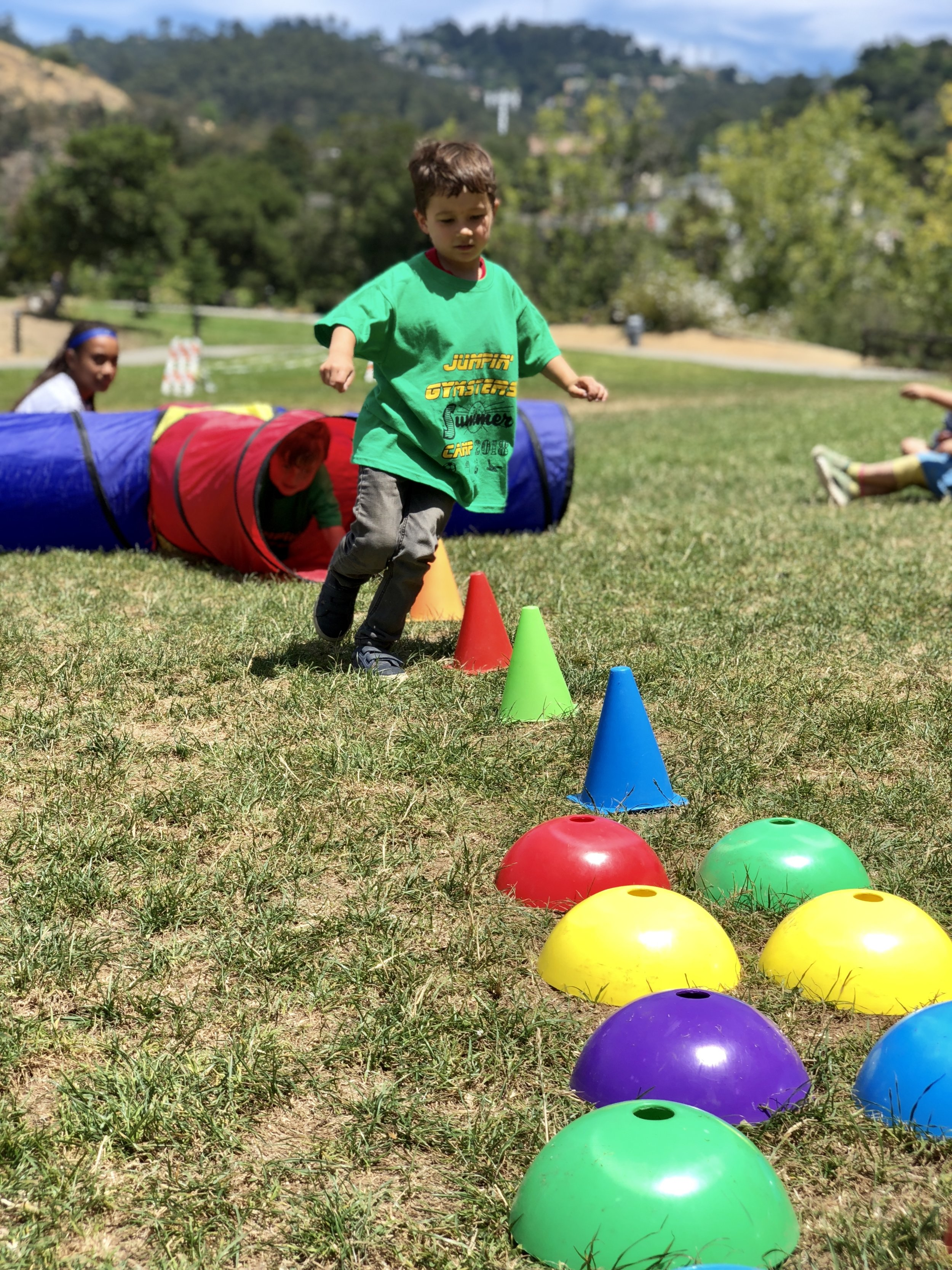 and Ninja Warrior Training! - OBSTACLE COURSES THAT CHALLENGE SPEED, AGILITY, STRENGTH AND ENDURANCE. We'll sprint through cones, climb a wall, jump over hurdles and crawl through moving tunnels!