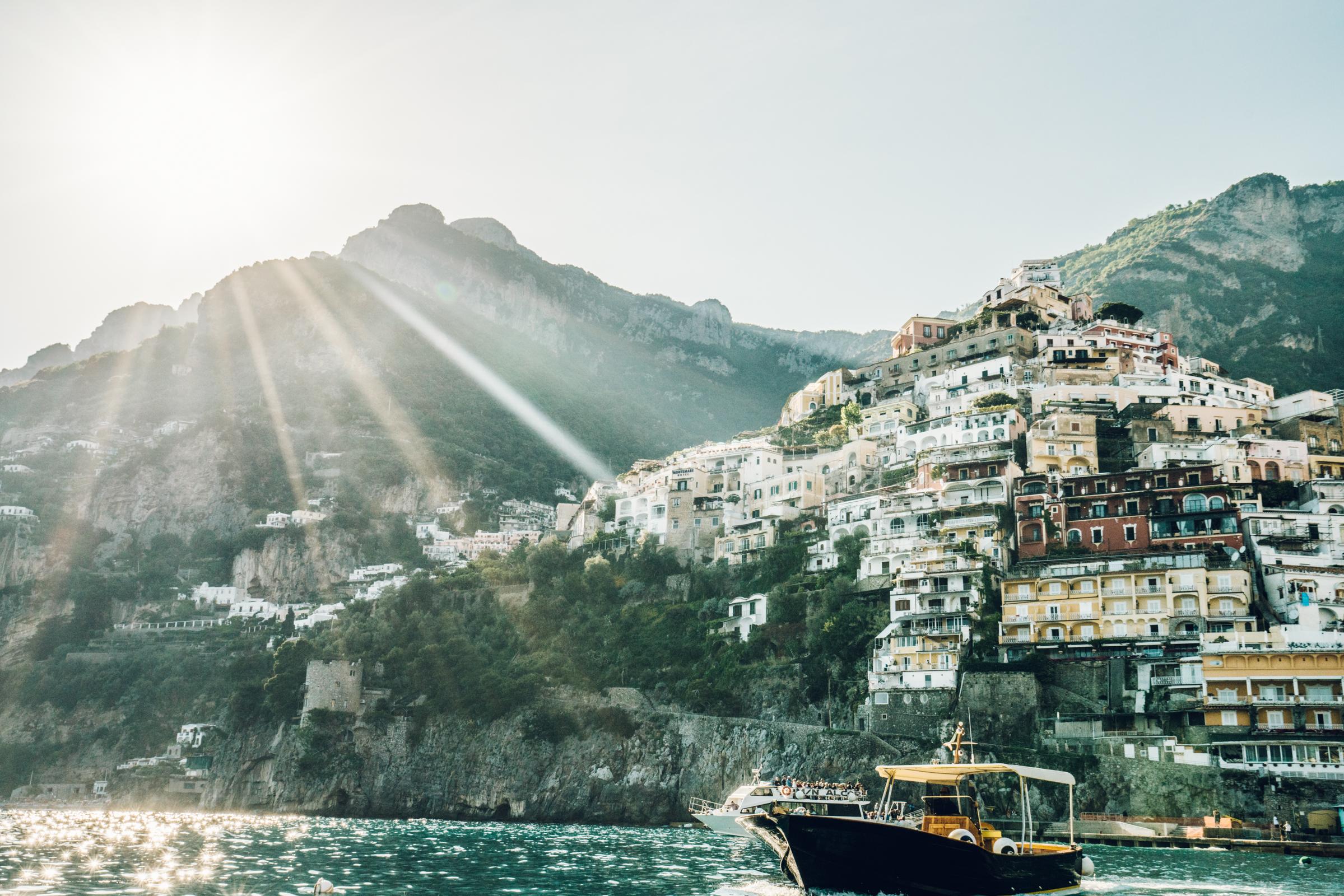 Travel Guide Positano Italy