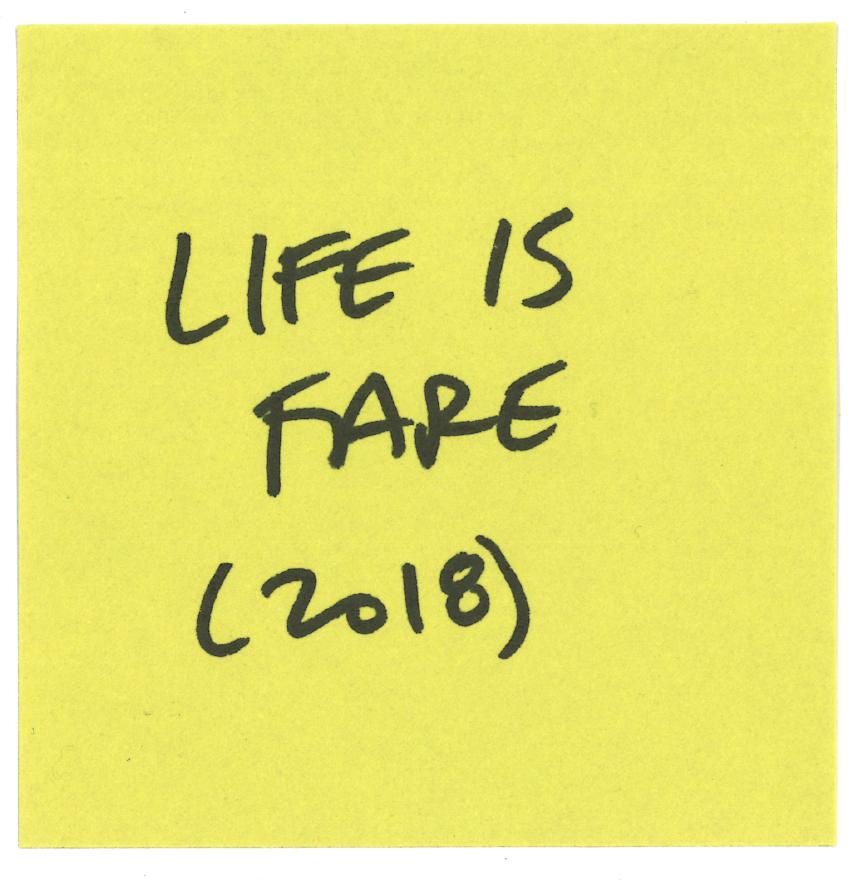 Life is Fare is an award winning film.