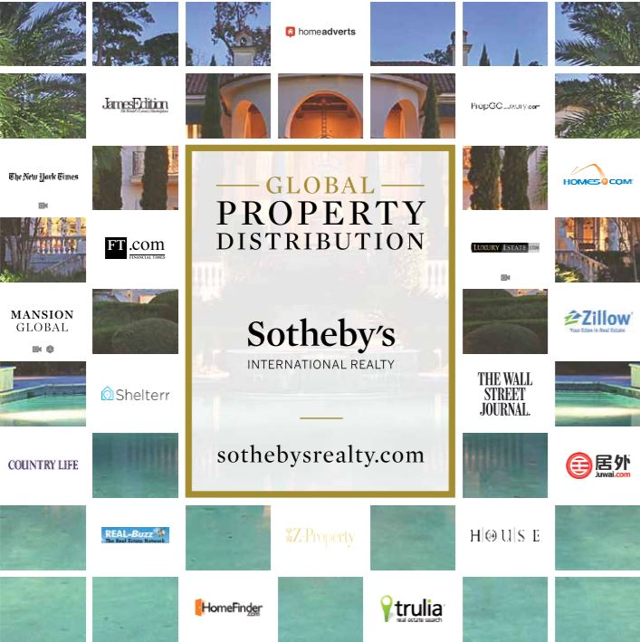 Global Property Distribution, Sotheby's International Realty