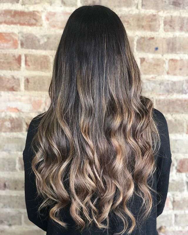 Starting the process of going lighter takes a little time and a lot of love. Dimensional color is my favorite thing to do no matter what color your hair is! Who's next?