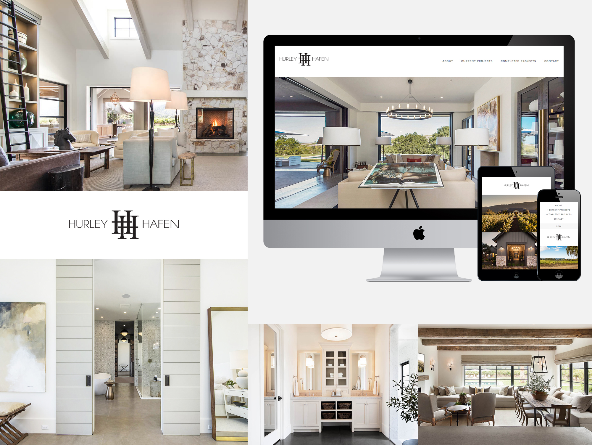 Hurley Hafen Website Showcase Knockout Design