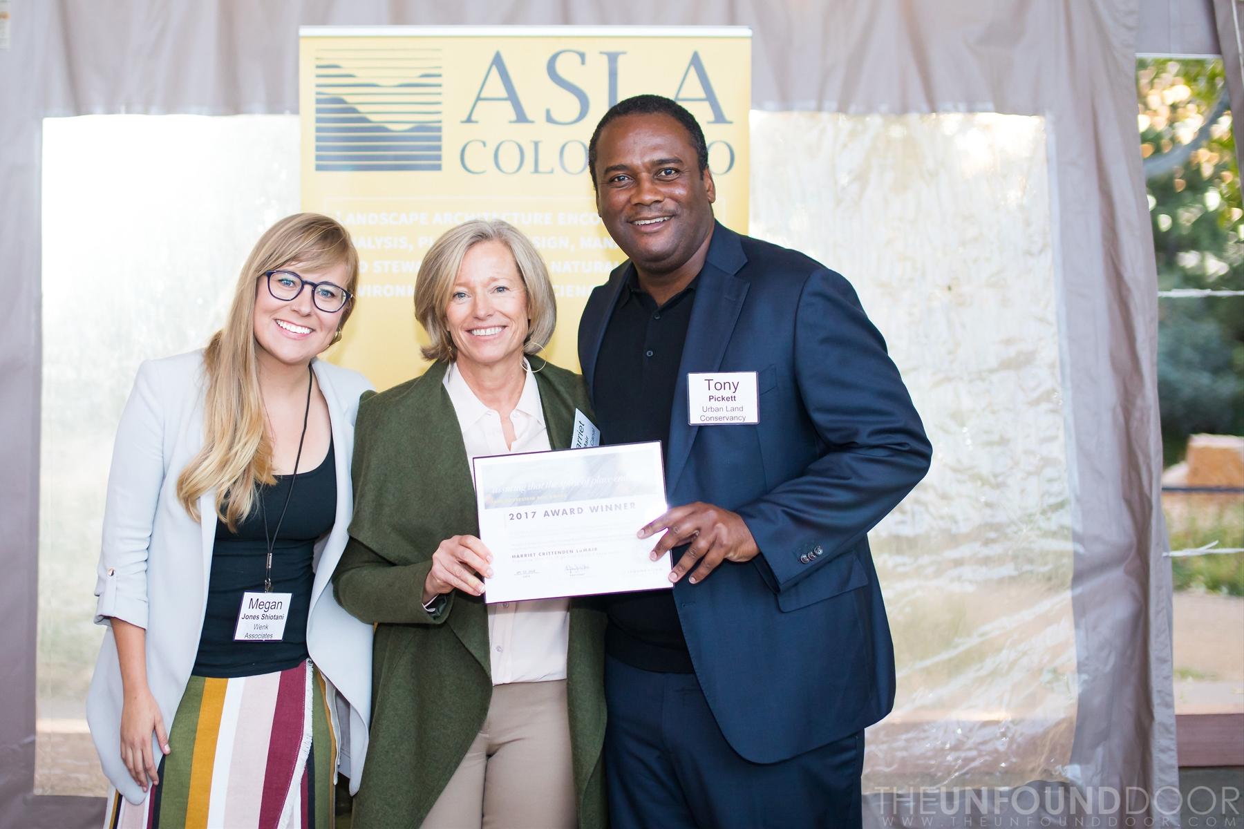 JSR Award Presentation at 2017 ASLA CO Annual Gathering