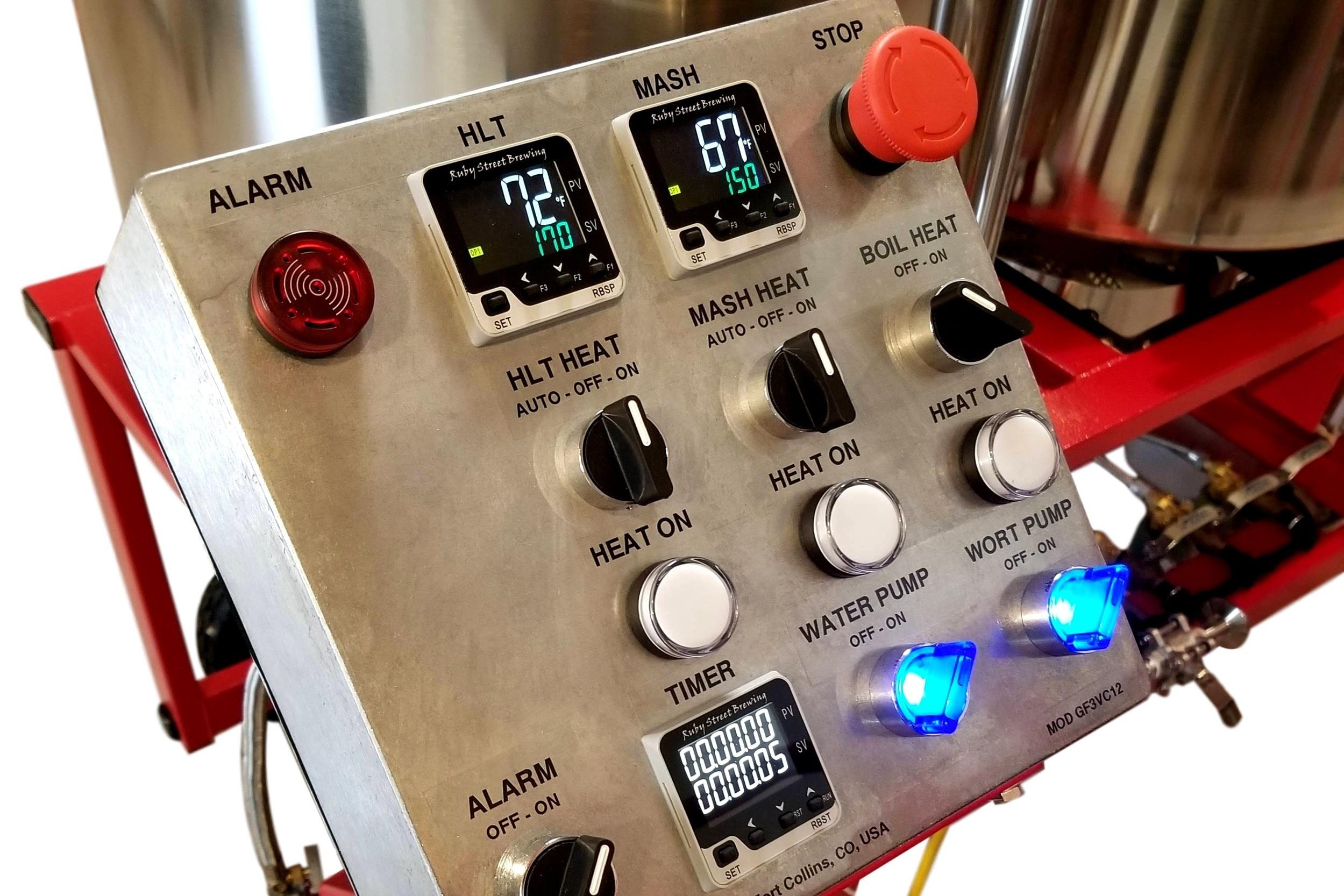 Digital Brewery Control