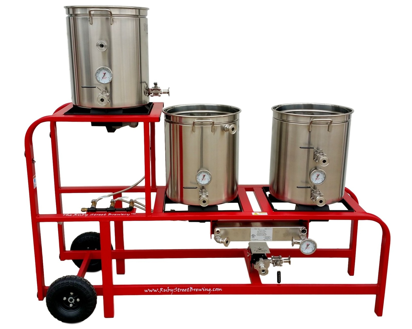Gas Fired Home Brewery