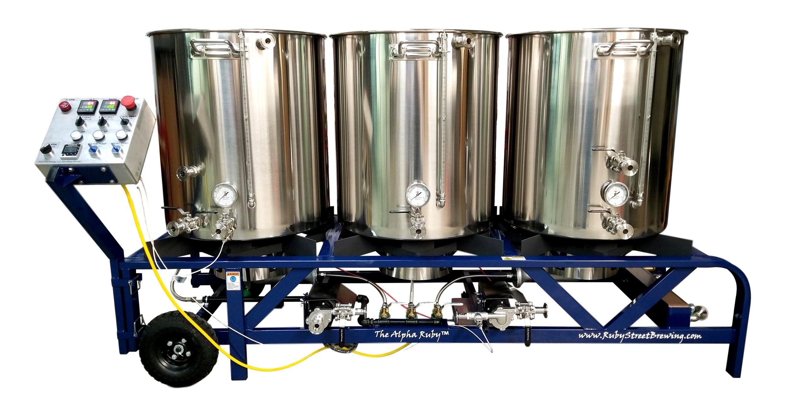 1 BBL Gas Pilot Brewery