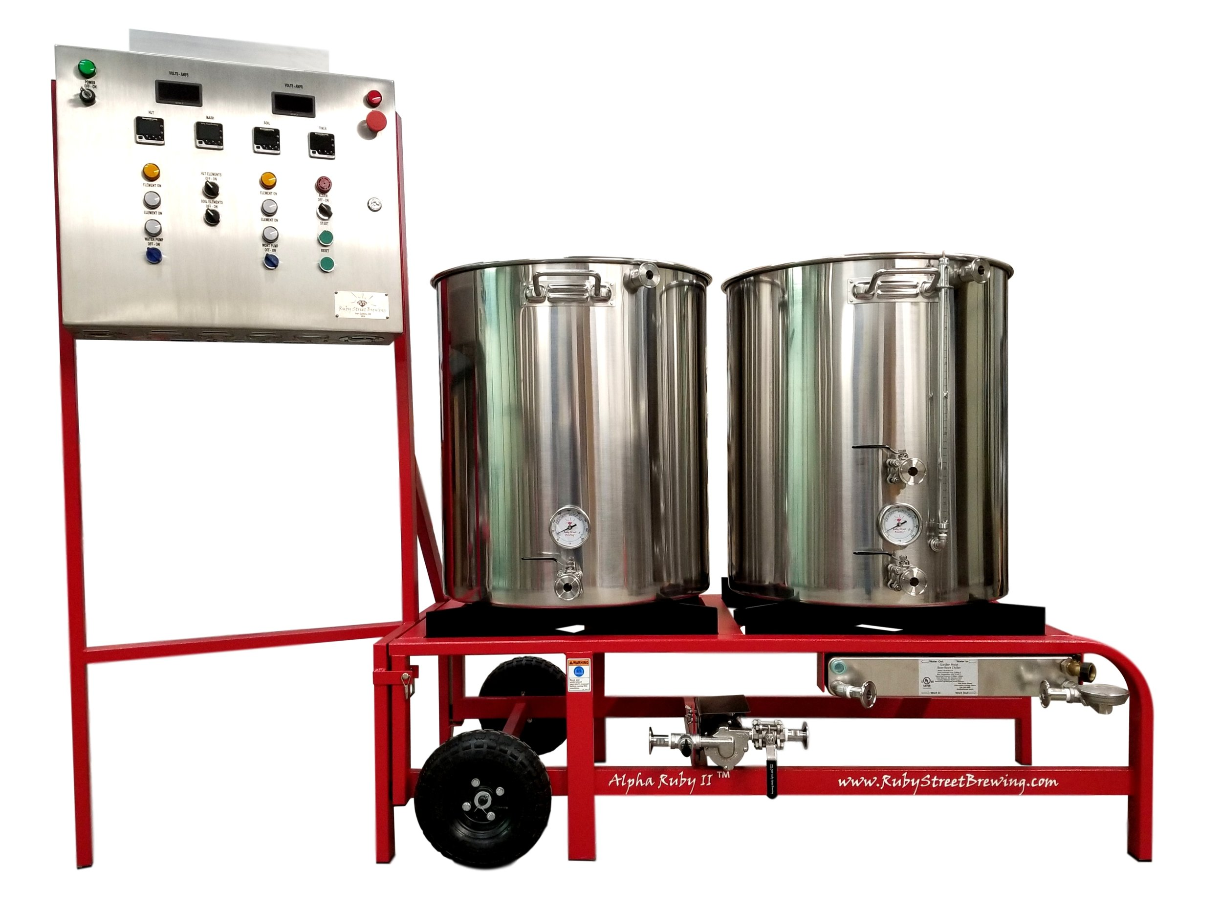 2 Vessel Electric Brewery