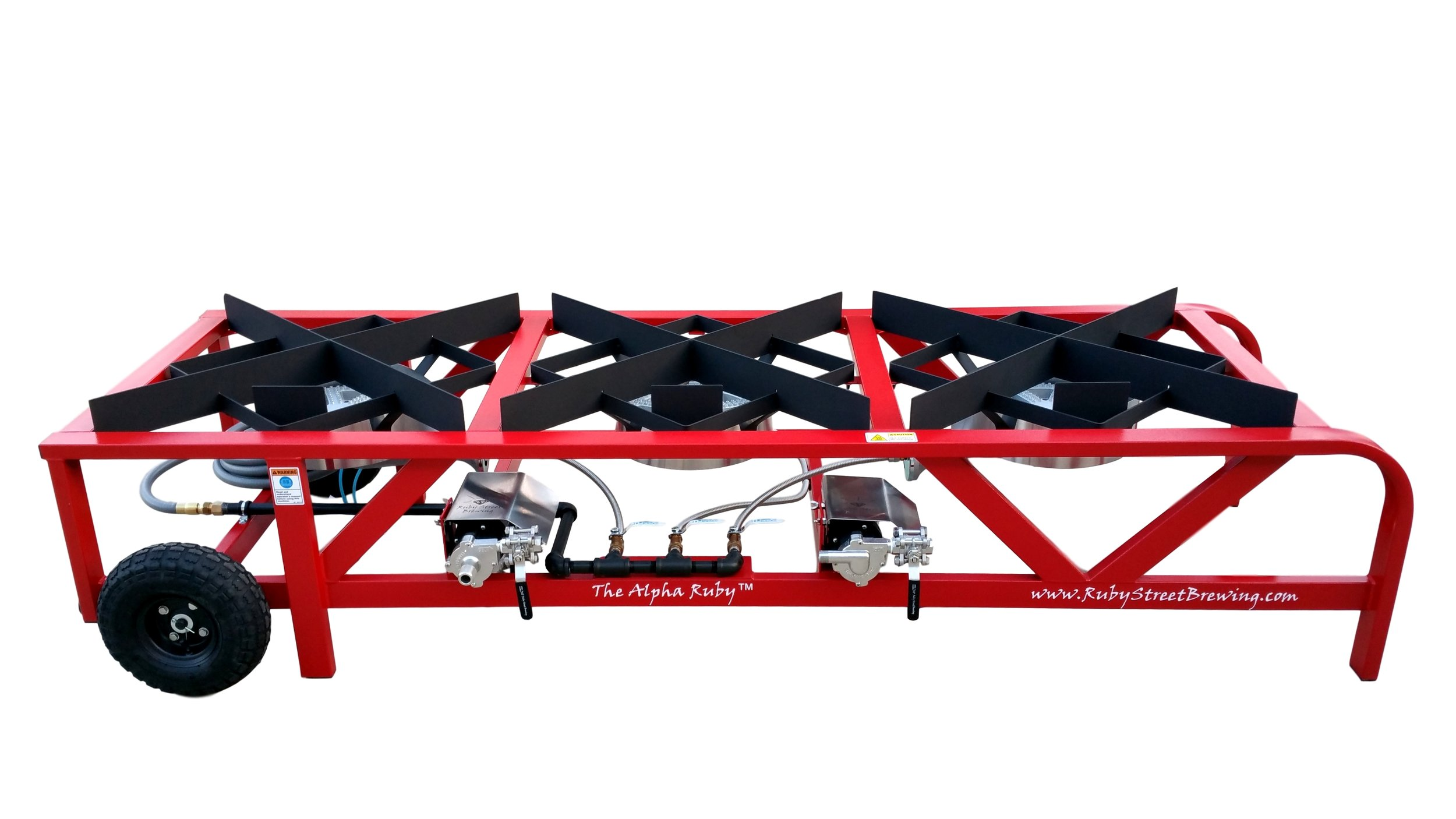 Alpha Ruby 1 BBL Frame Only (shown with optional pumps)