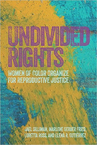 "Undivided Rights  captures the evolving and largely unknown activist history of women of color organizing for reproductive justice—on their own behalf.   Undivided Rights  presents a textured understanding of the reproductive rights movement by placing the experiences, priorities, and activism of women of color in the foreground. Using historical research, original organizational case studies, and personal interviews, the authors illuminate how women of color have led the fight to control their own bodies and reproductive destinies. Undivided Rights shows how women of color—-starting within their own Latina, African American, Native American, and Asian American communities—have resisted coercion of their reproductive abilities. Projected against the backdrop of the mainstream pro-choice movement and radical right agendas, these dynamic case studies feature the groundbreaking work being done by health and reproductive rights organizations led by women-of-color.  The book details how and why these women have defined and implemented expansive reproductive health agendas that reject legalistic remedies and seek instead to address the wider needs of their communities. It stresses the urgency for innovative strategies that push beyond the traditional base and goals of the mainstream pro-choice movement—strategies that are broadly inclusive while being specific, strategies that speak to all women by speaking to each woman. While the authors raise tough questions about inclusion, identity politics, and the future of women's organizing, they also offer a way out of the limiting focus on ""choice.""   Undivided Rights  articulates a holistic vision for reproductive freedom. It refuses to allow our human rights to be divvied up and parceled out into isolated boxes that people are then forced to pick and choose among."
