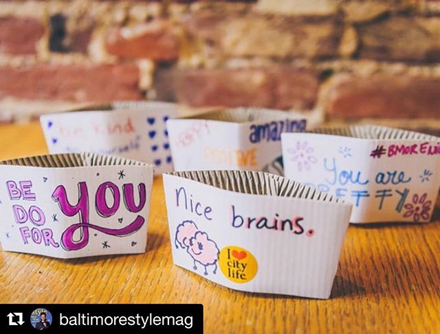 Thanks for the love!  #Repost @baltimorestylemag with @get_repost ・・・ Daily kindness, courtesy of @haveaniceday2015 Photo by @stuckphoto #BmoreKind #bmorenice BaltimoreStyle.com