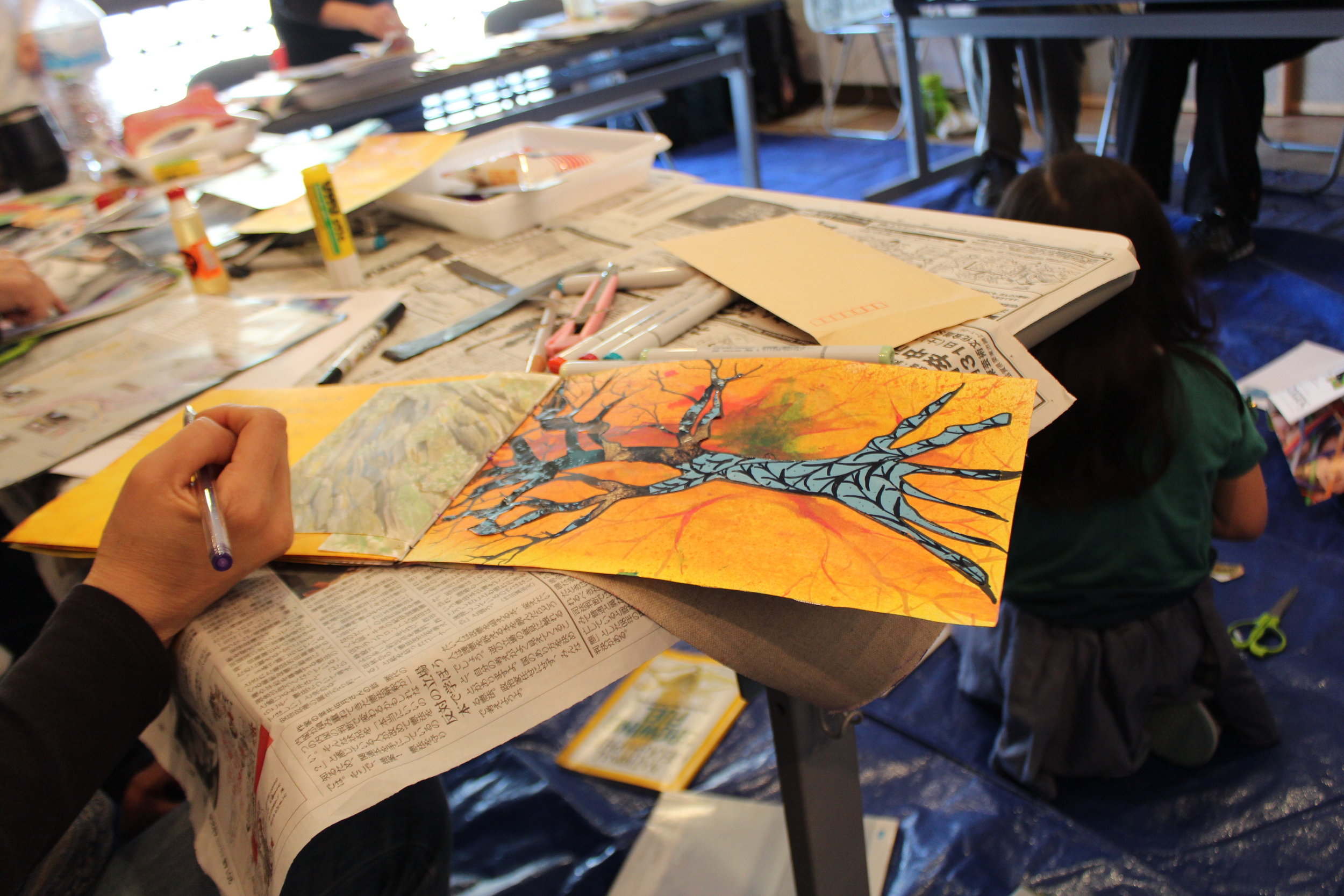 Art Journaling Workshops - This is an open group that meets to learn journaling techniques and grow through personal art making.