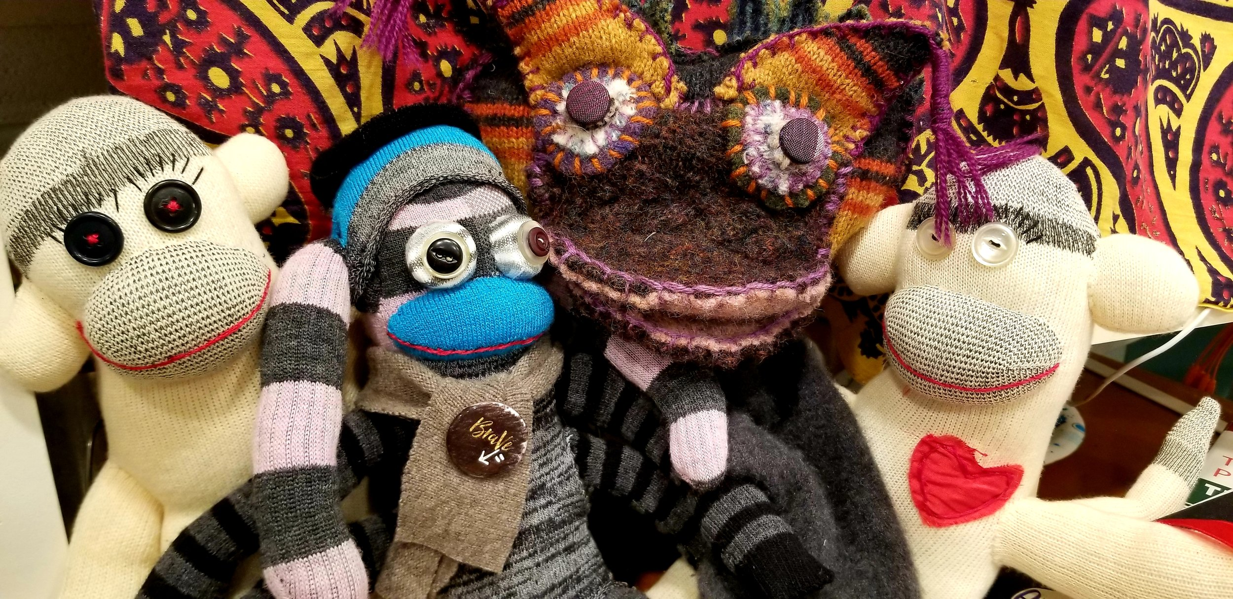 Sock Monsters and Sock Monkeys