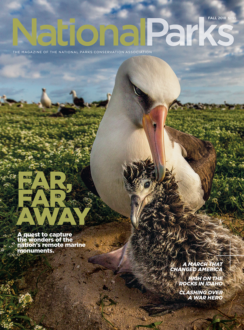 National Parks Conservation Association cover story in Fall 2018 issue of National Parks magazine.