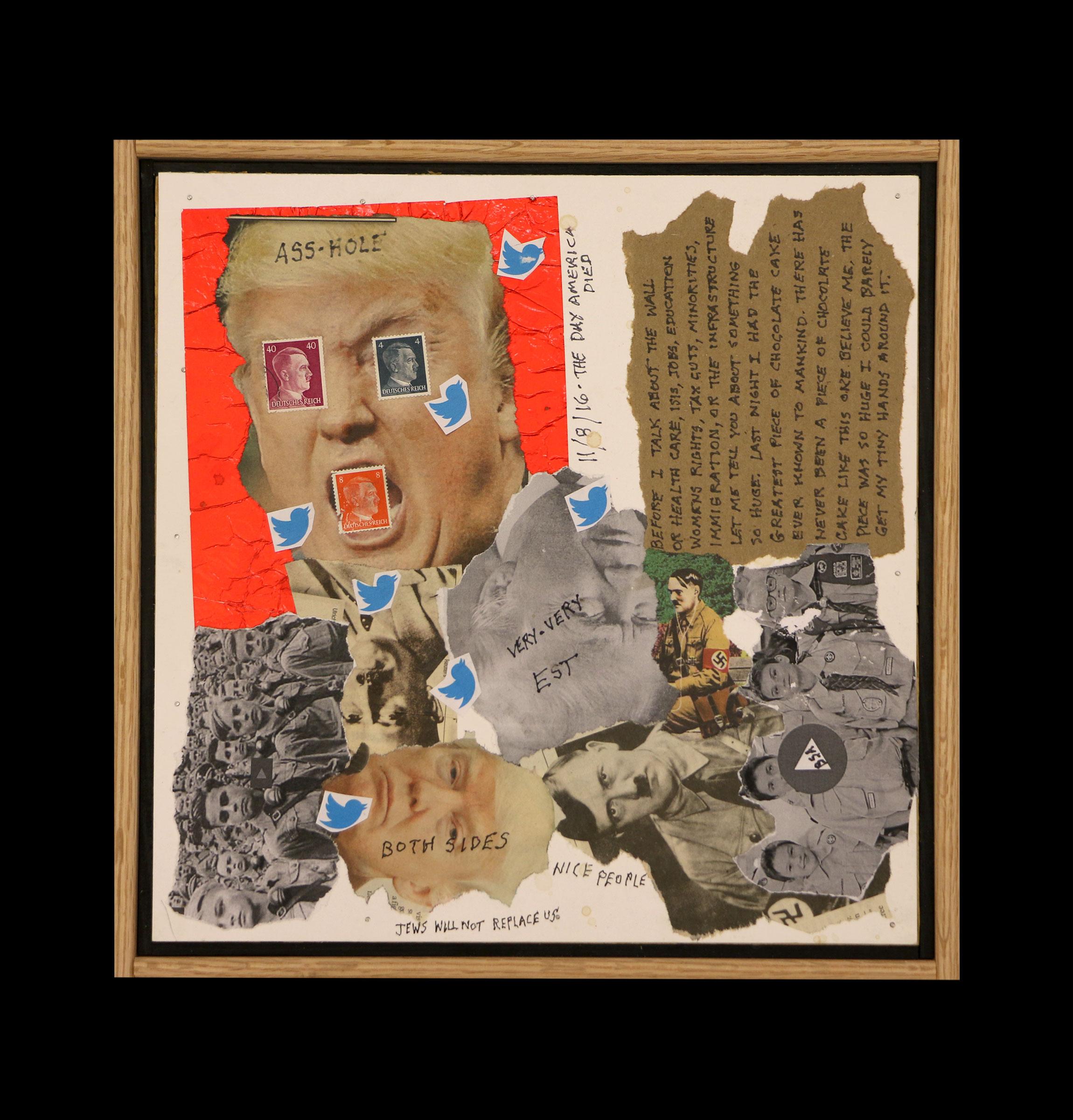 """""""Strange Bedfellows #1/Donnie&Adolf"""""""