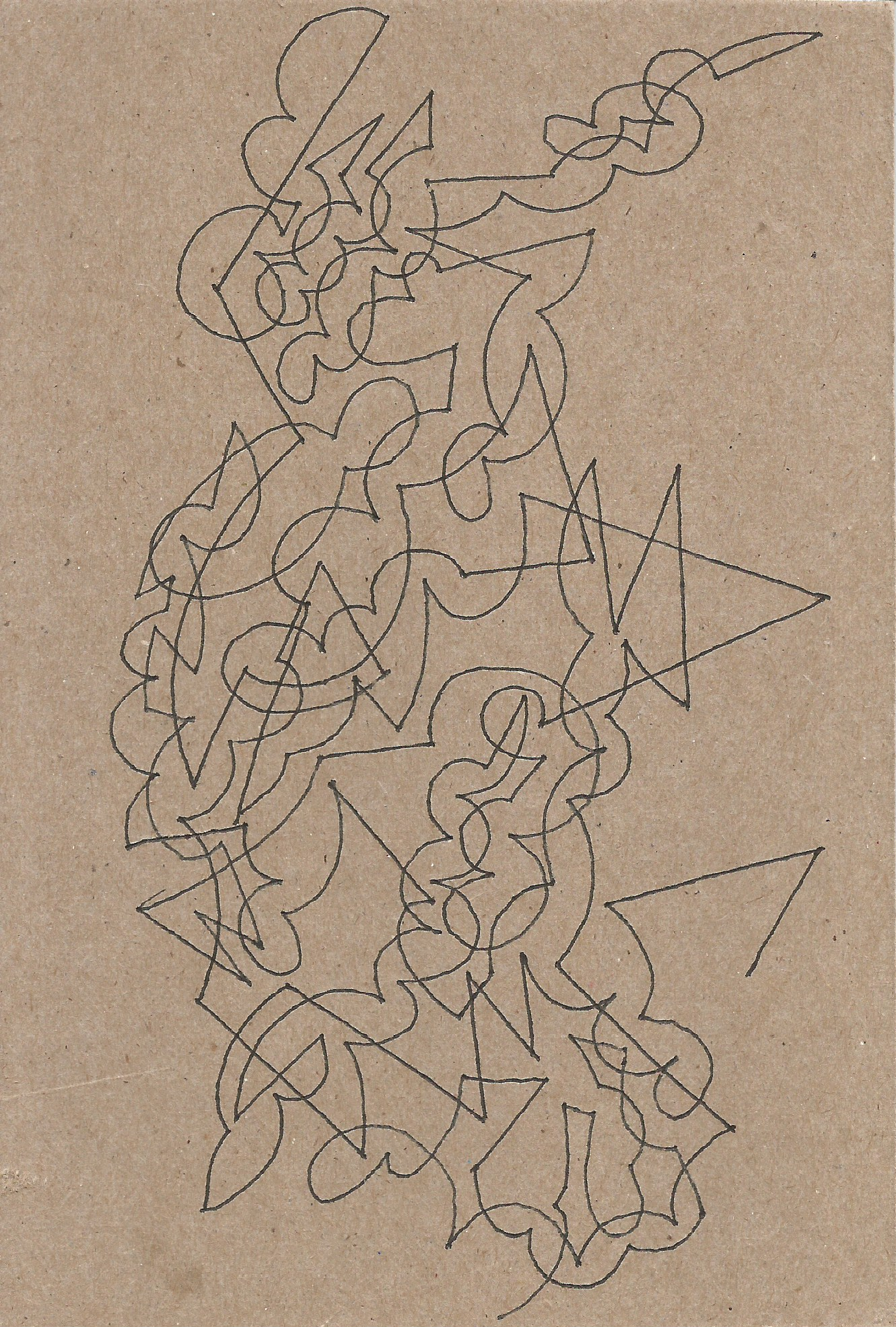 Miscellaneous Drawings #13 (Untitled) 2015 - Front.jpeg