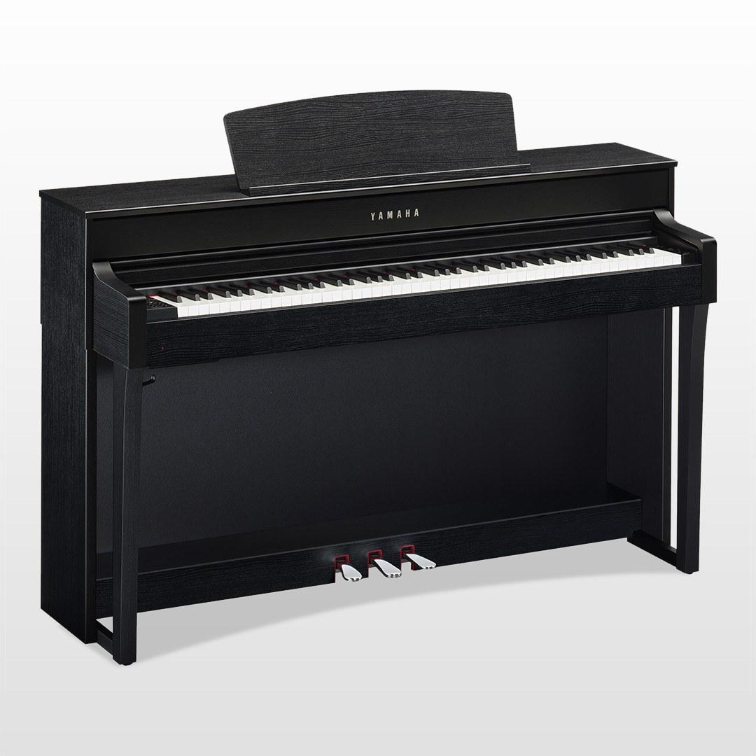 The Yamaha CLP 645 Black