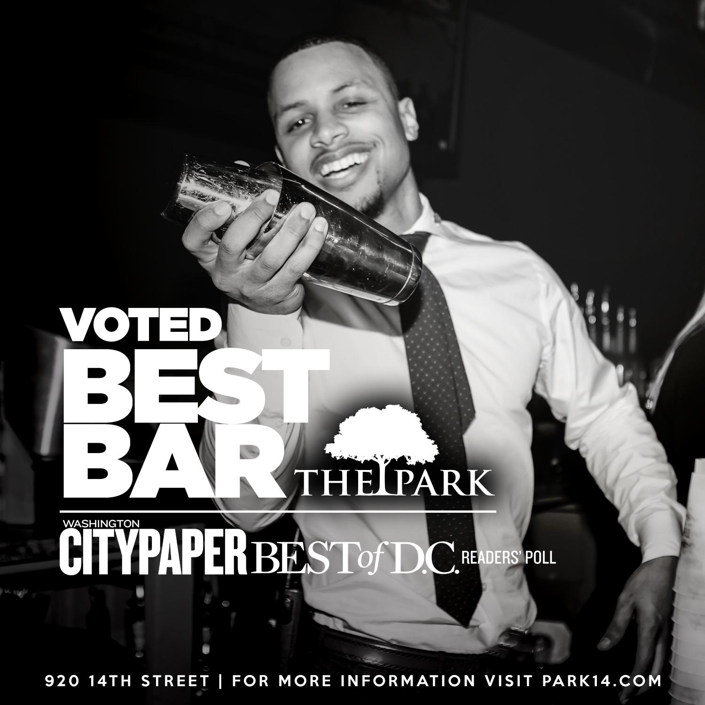 Voted Best Bar - Washington City Paper Best of D.C.