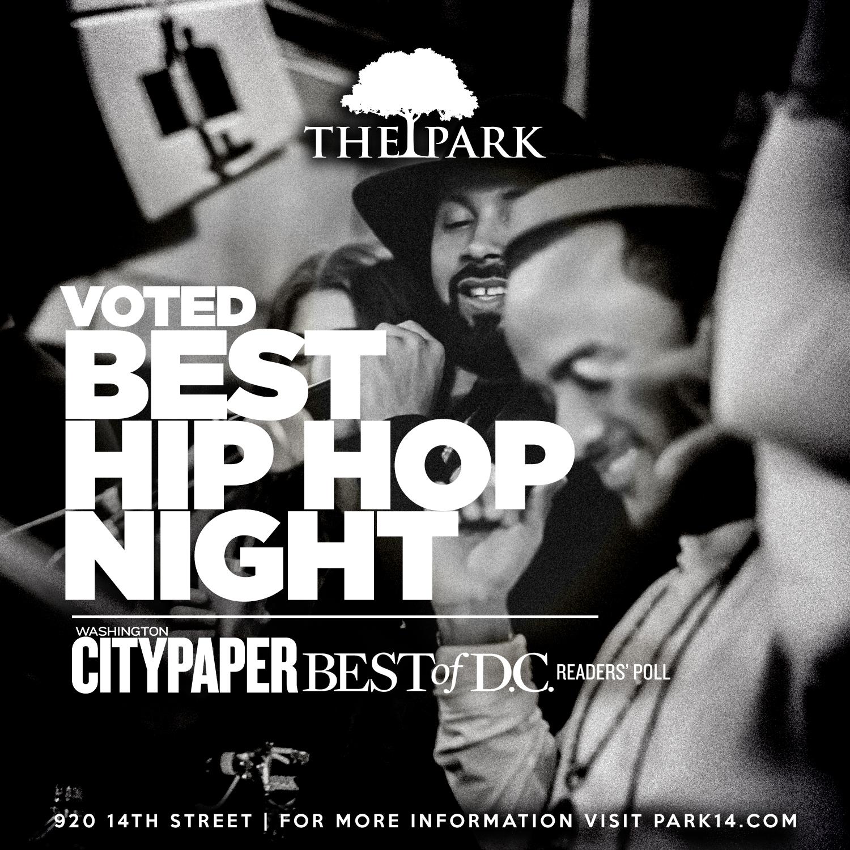 Voted Best Hip Hop - Washington City Paper Best of D.C.