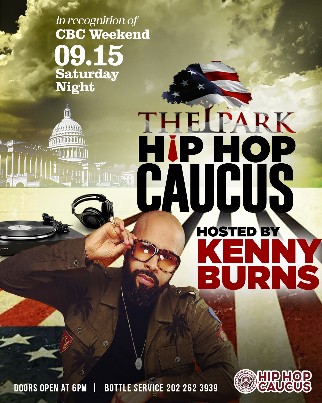 Saturday HipHop Caucus 2018 flyer Kenny B v2.jpg