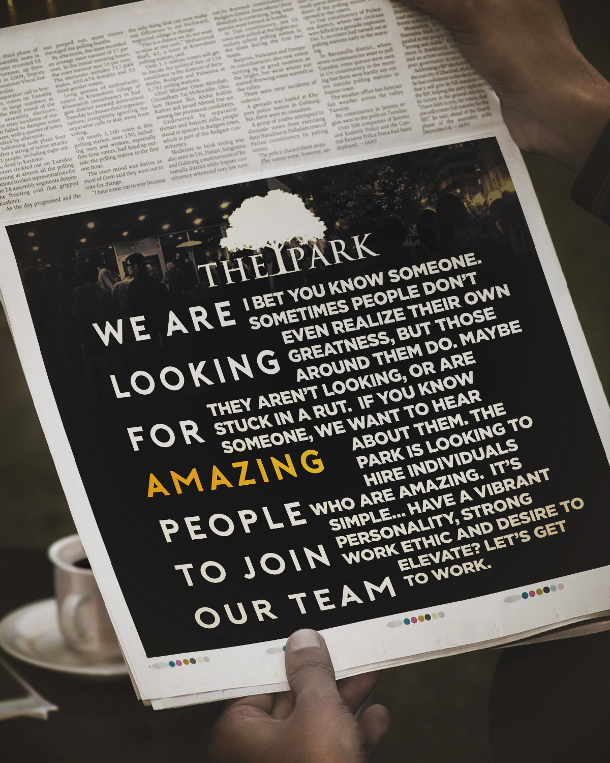 We are Hiring - We are looking for amazing people to join our team.