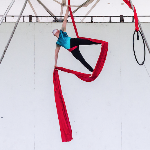 Aerial Arts - Silks, Trapeze, Lyra, Aerial Fitness and Dance
